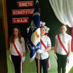 Obchody uchwalenia Konstytucji 3 Maja w Szkole Podstawowej w Bachowie